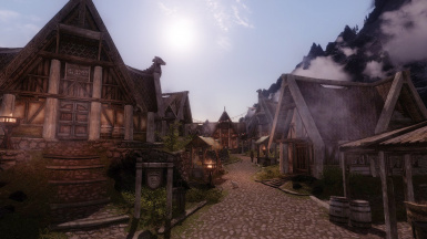 Dawn of Whiterun