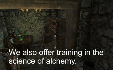 A Full Alchemy Lab with Rare Ingredients