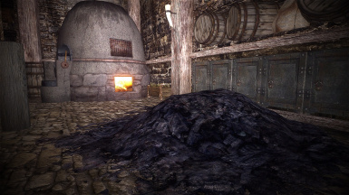 HD Charcoal for Smelter - 2K and 1K texture replacer
