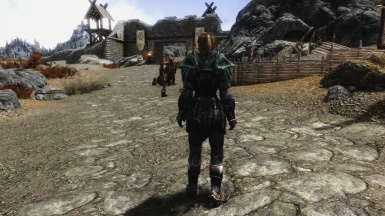 Lore Friendly Thalmor Glass Armor Back Weight 100