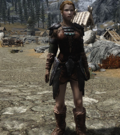 Lore Friendly Ancient Nord Armor Front