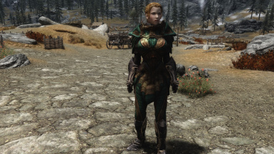 Lore Friendly Glass Armor Front Weight 100