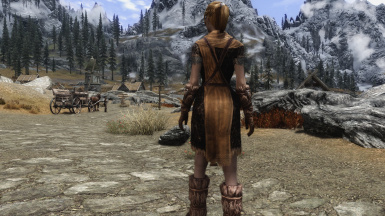 Lore Friendly Whiterun Guard Back Weight 0