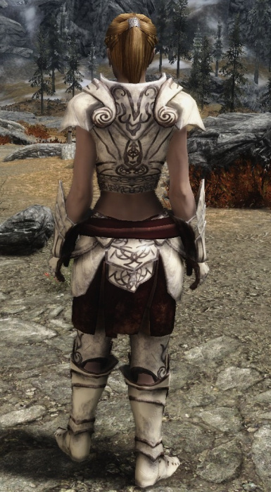 SemiSkimpy Ancient Falmer Armor Rear