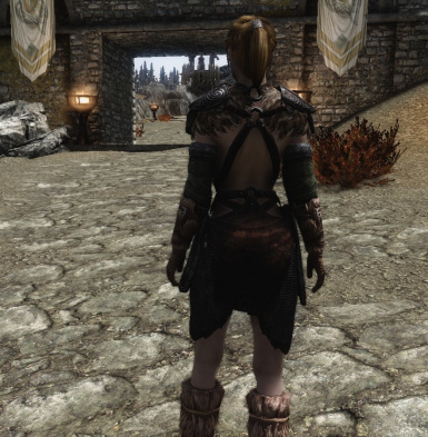 Lore Friendly Ancient Nord Armor Back