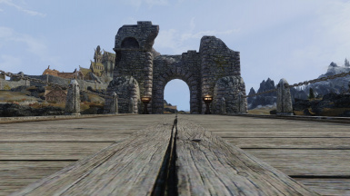 Bridge near Whiterun