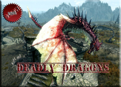 Мод Deadly Dragons для Скайрим