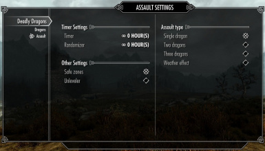 assault settings