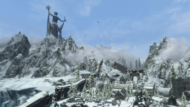 View from Winterhold