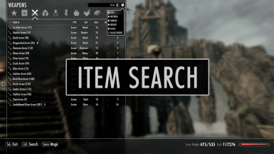 Item Search