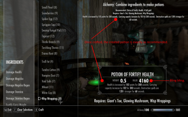 Prosperous Alchemist Craft The Most Valuable Potions At Skyrim