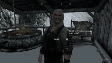 Different NPCs are knowledgeable about different topics