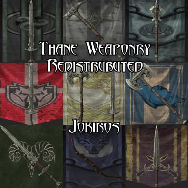 Thane Weaponry Redistributed
