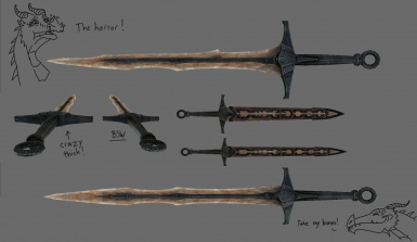LeanWolf's Better-Shaped Weapons at Skyrim Nexus - mods and