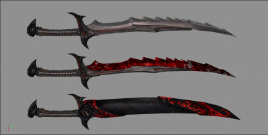 Optional Daedric glowy sheath