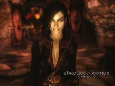 Dark Brotherhood Shrouded Armor CBBEv3 Echo