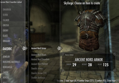 New Skyforge Version - Ancient Nord Armor