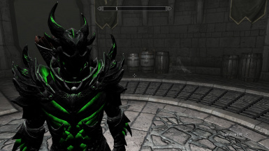 Vidoegames Daedric Armor and Weapons Collection