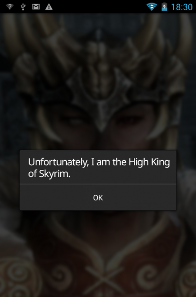 Android Error - High King