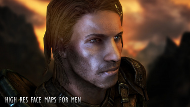 High Res Face Maps for Men by Geonox