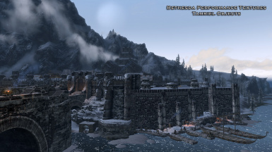 Windhelm - Palace in background