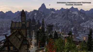 Solitude - Blue Palace in background