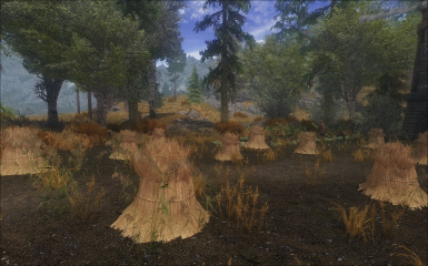 UG Dense with Vurts Flora - Weedy Farming Dirt - image by anaphiel