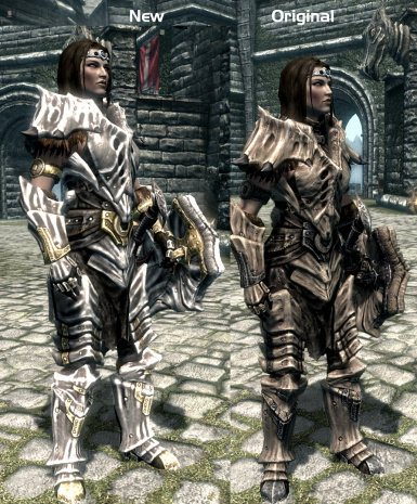 Silver Dragonplate Comparison 4; Silver Dragonplate Comparison 1; SilverDragonplate Comparison 2 ... & Silver Bone Dragon Plate Armor at Skyrim Nexus - mods and community