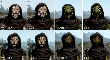 Better Fitting Monk Hoods