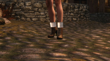 Bobs Boots For Cbbe And Unp Hdt Required At Skyrim Nexus Mods And