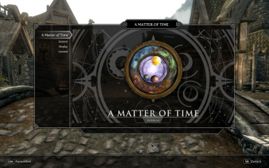 A Matter of Time - A HUD clock widget