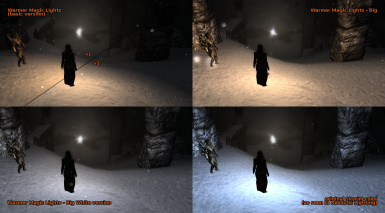 dark night mod comparison