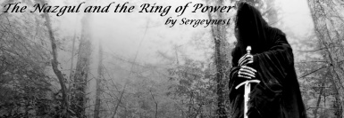 The Nazgul and the Ring of Power by Sergeynest