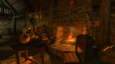 A Noble Fireplace