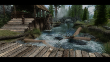 Beautiful Skyrim with NSM