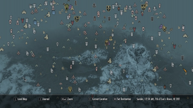 DW420 - Coloured Map Markers and Compass Icons at Skyrim Nexus