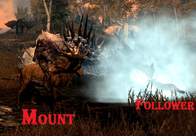 Mount Moose Follower Arctic Grey Fox