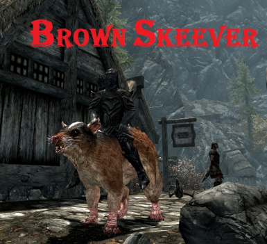 Brown Skeever
