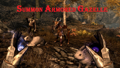 Summon Armored Gazelle