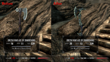 Weapons and Armor Fixes