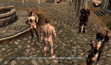 Immersive Naked Comments