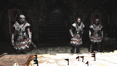 Legate Rikke and some soldiers