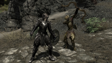 Ebony and Elven in action
