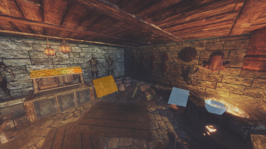 Smithing room custom storage