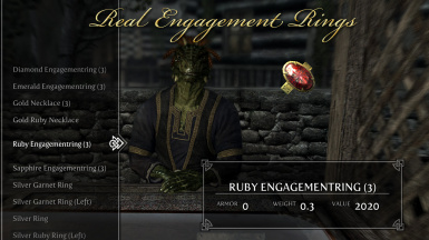 REAL ENGAGEMENT RINGS at Skyrim Nexus - mods and community