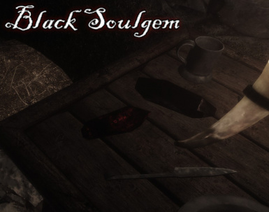 Black Soulgem in a Dungeon