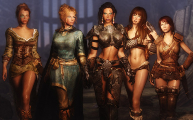 SkyDream Maidens with In-Game Body Changer