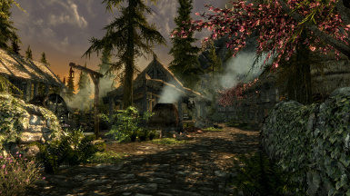 Riverwood main street with ETaC patch