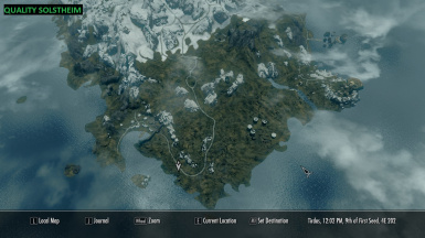 Quality Solstheim Map
