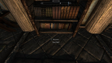 Bookshelves Updated SKSE Script At Skyrim Nexus